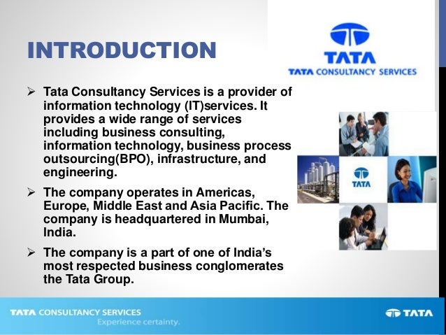 tata introduction Tata international is a global trading and distribution company, operating five business verticals- leather and leather products, metals trading, minerals trading.
