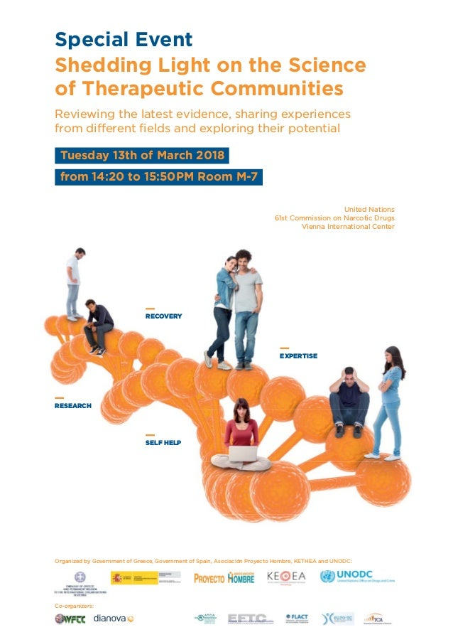 RESEARCH SELF HELP RECOVERY EXPERTISE Shedding Light on the Science of Therapeutic Communities Reviewing the latest eviden...