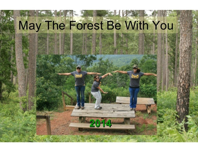 20142014 May The Forest Be With You