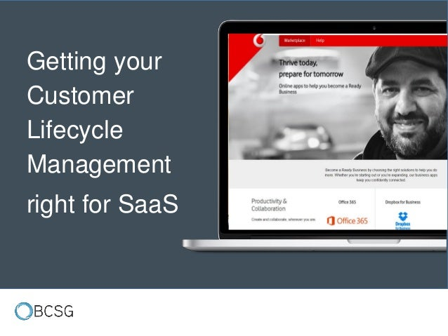 Getting your Customer Lifecycle Management right for SaaS