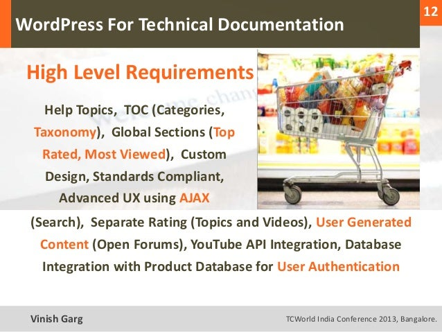 12                                                                                  1  WordPress For Technical Documentati...
