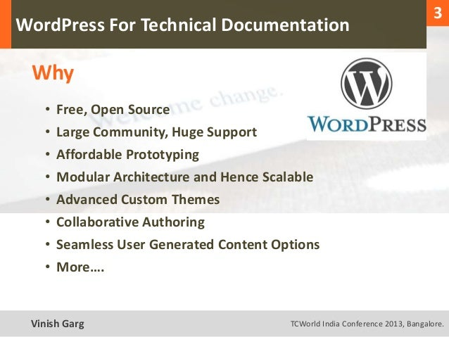 1                                                                                    3  WordPress For Technical Documentat...