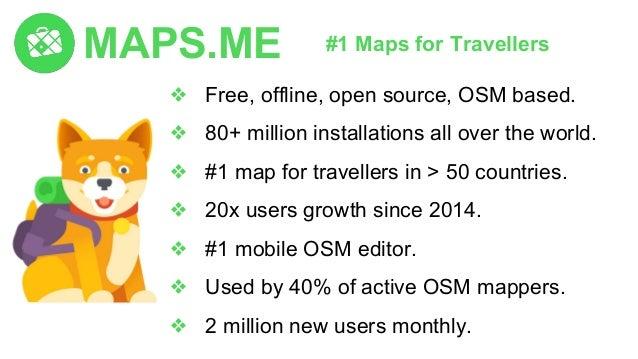 Eugene Lisovskiy, CEO, MAPS.ME | Workshop | SotM Asia 2017 Slide 2