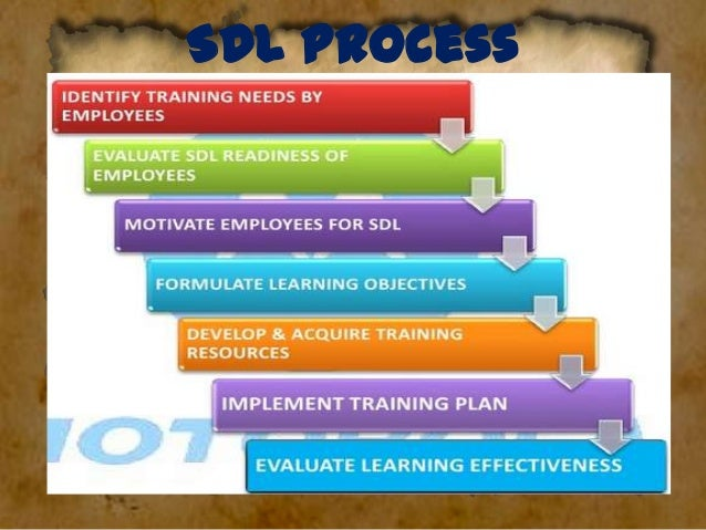 • Cost Advantage: –Classroom training $13.34/hr –SDL mode - $7.76/hr  • Extensive use of tools in SDL –Audio tapes –Video ...