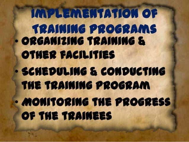 Evaluation of the Program Need for evaluation:• To identify the programs strengths & areas of improvement. • To assess the...