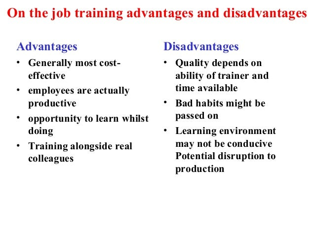 The Disadvantages of Over-training in the Workplace
