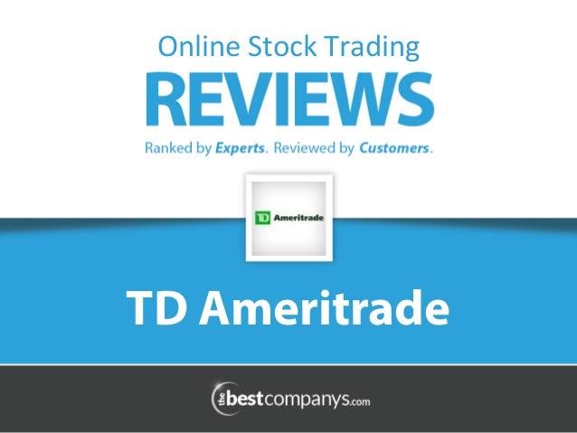 TD Waterhouse Profile On-line Broker Survey  // ferifove ml