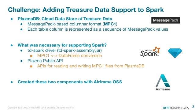 td-spark internals: Extending Spark with Airframe - Spark Meetup Tokyo #3 2020 Slide 3