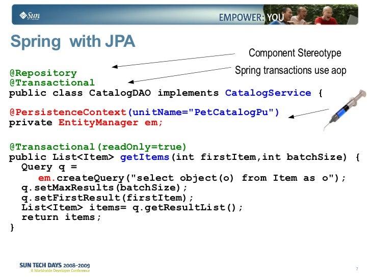 JPA Best Practices