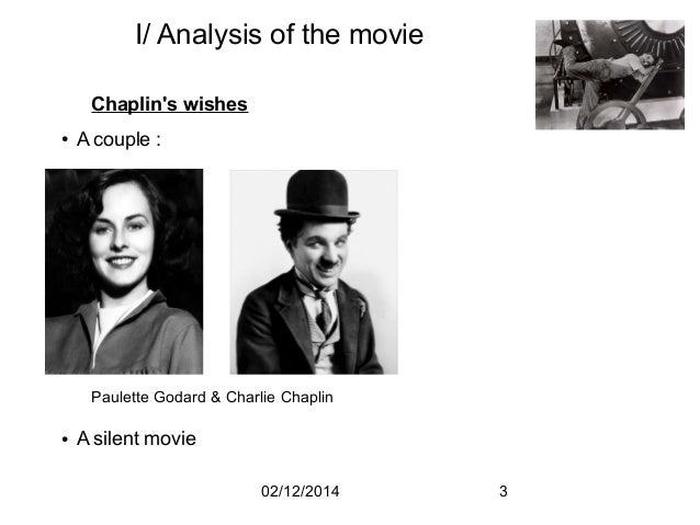 Chaplin: Analysis of Modern Times
