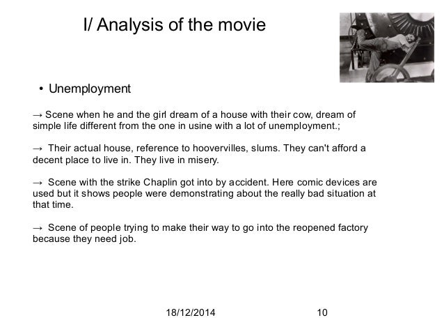 Chaplin: Analysis of Modern Times
