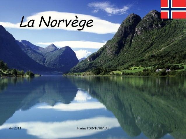 La Norvège  04/12/13  Marine POINTCHEVAL  1