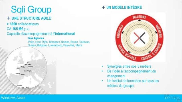 + UN MODÈLE INTÉGRÉ     Sqli Group   + UNE STRUCTURE AGILE   > 1800 collaborateurs   CA 165 M€ (n.a.)   Capacité d'accompa...