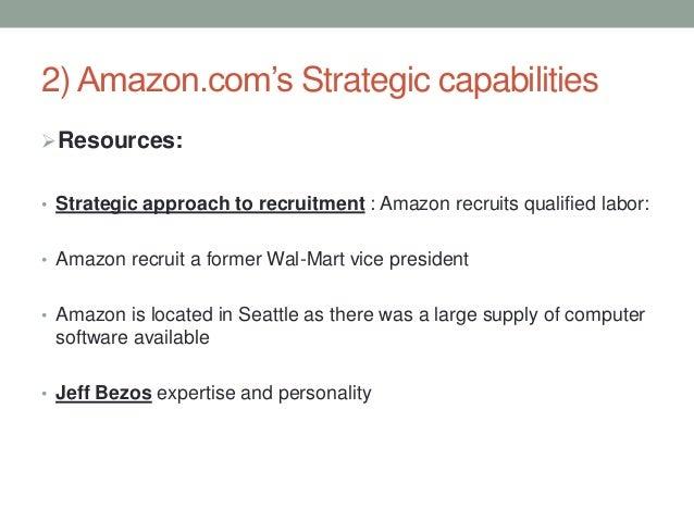 Amazon – Strategic Capability