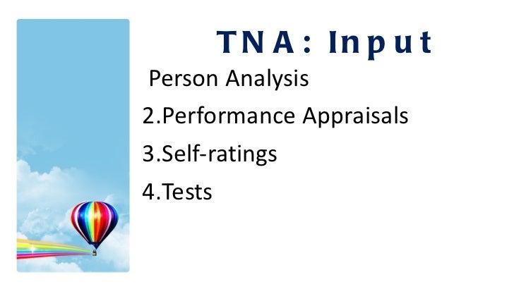 <ul><li>Person Analysis </li></ul><ul><li>Performance Appraisals </li></ul><ul><li>Self-ratings </li></ul><ul><li>Tests </...