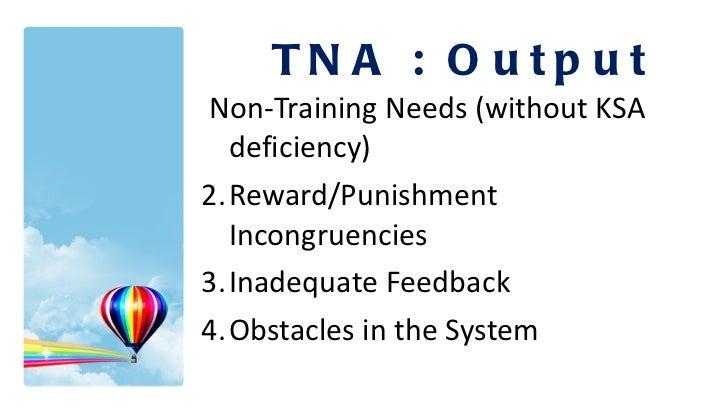 <ul><li>Non-Training Needs (without KSA deficiency) </li></ul><ul><li>Reward/Punishment Incongruencies </li></ul><ul><li>I...