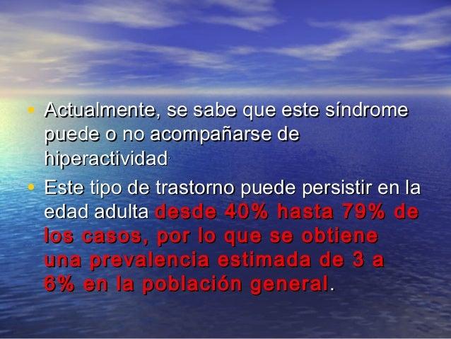 • La variabilidad de estos porcentajes seLa variabilidad de estos porcentajes se relaciona con los criterios diagnósticosr...