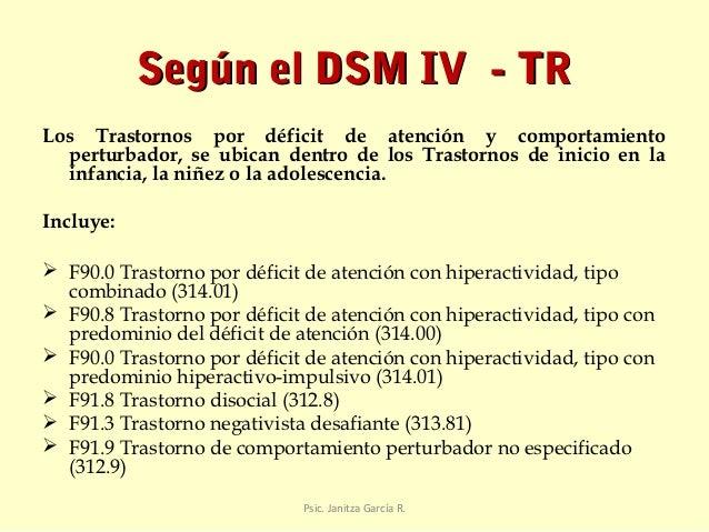 deficit de atencion definicion pdf