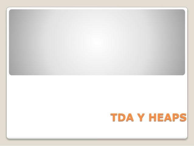 TDA Y HEAPS