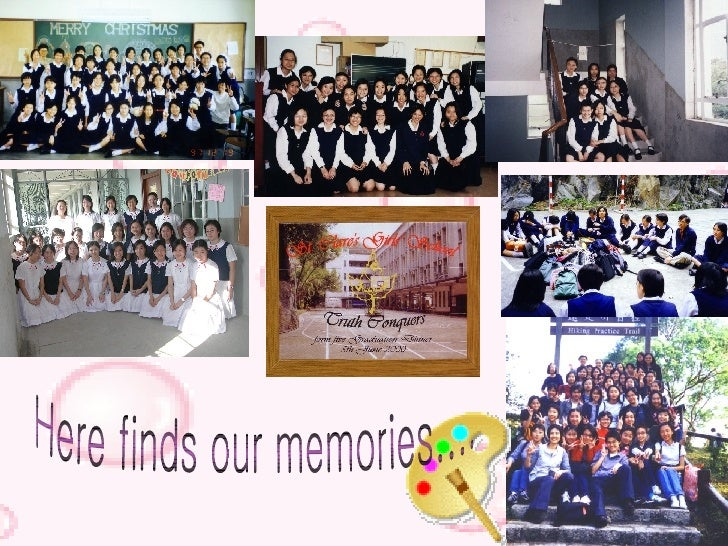 Here finds our memories....