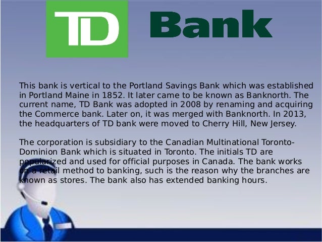 TD Bank zip code 06480, Connecticut, Portland