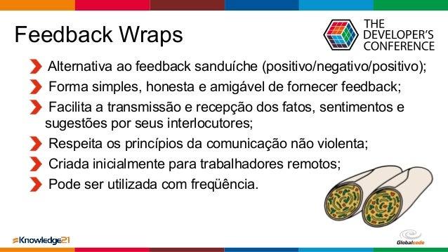 Globalcode – Open4education Alternativa ao feedback sanduíche (positivo/negativo/positivo); Forma simples, honesta e amigá...