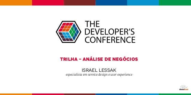 Trilha - Análise de Negócios israel lessak especialista em service design e user experience