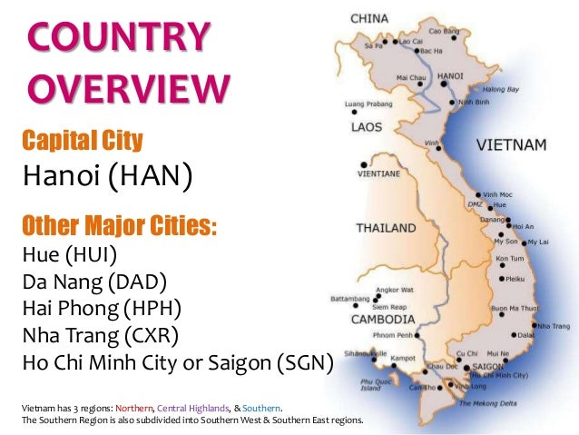 an overview of the country of vietnam Vietnam: water pollution and mining in an emerging economy heather whitney introduction 25 i background 29 a the mining industry of vietnam and water pollution.