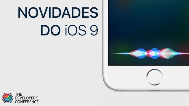 NOVIDADES DO iOS 9