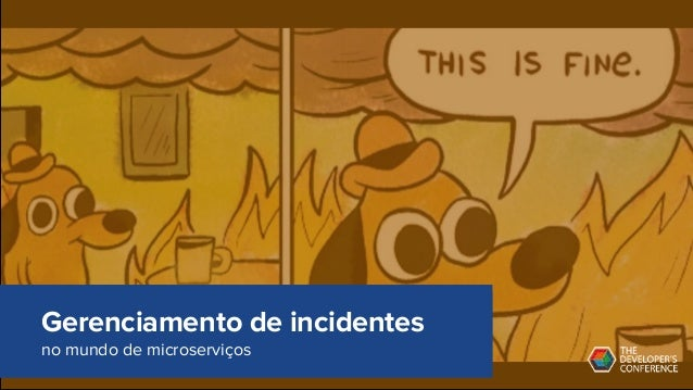 Gerenciamento de incidentes no mundo de microserviços