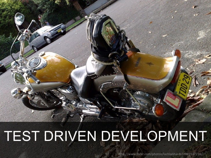 TEST DRIVEN DEVELOPMENT http://www.flickr.com/photos/lachlanhardy/2092147736/