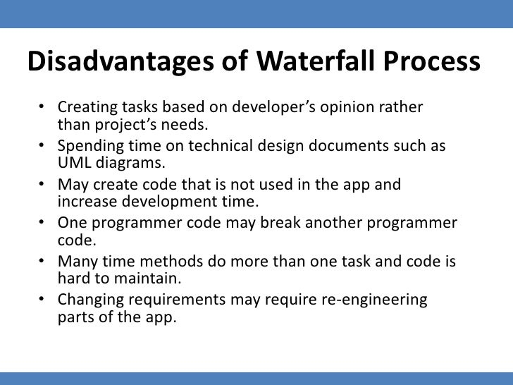 Test driven development tdd with flexunit 4 360 flex for Waterfall methodology advantages and disadvantages
