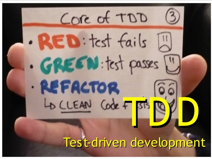 TD DTest-driven development