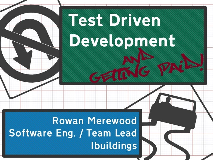 Test Drivenu           Development                        andaid!                  f                 Gettin gP        Rowa...