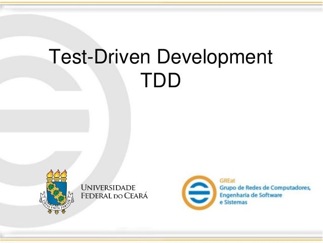 Test-Driven Development TDD