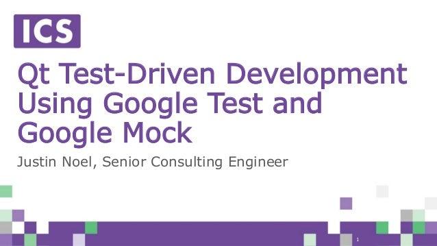 Webinar] Qt Test-Driven Development Using Google Test and