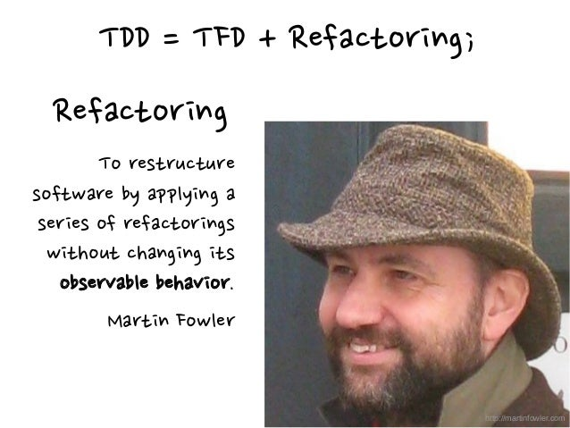 """""""The goal of TDD is clean code that works."""" Ron Jeffries https://twitter.com/RonJeffries"""
