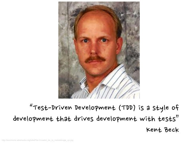 TDD is the shortest cycleTDD is the shortest cycle in agile developmentin agile development