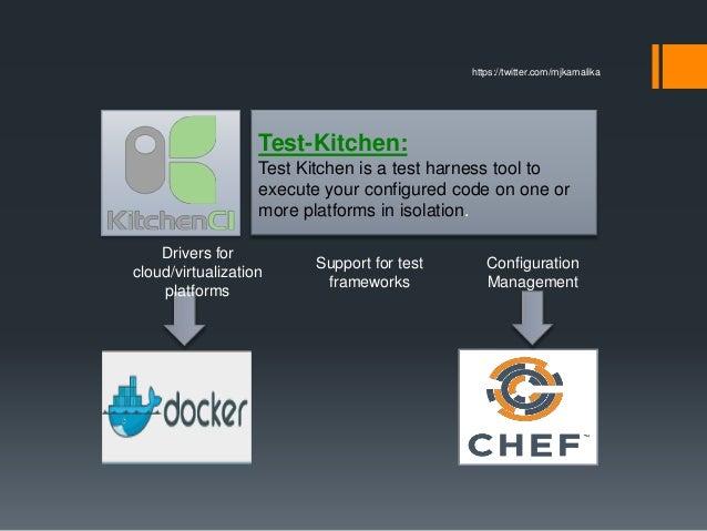 Test Kitchen Chef testing for infra code using test-kitchen,docker,chef