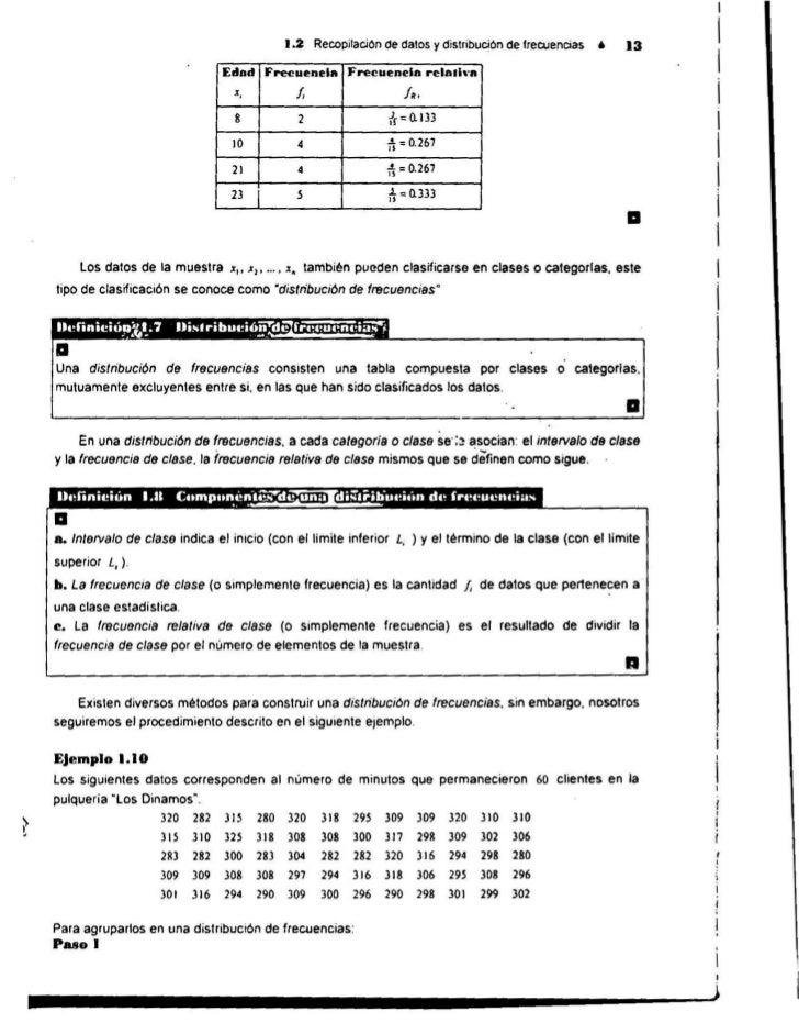 1.2 RecopilaciOn de datos y dislribuciOn de frecuenCias.                 13                                  Edad         ...