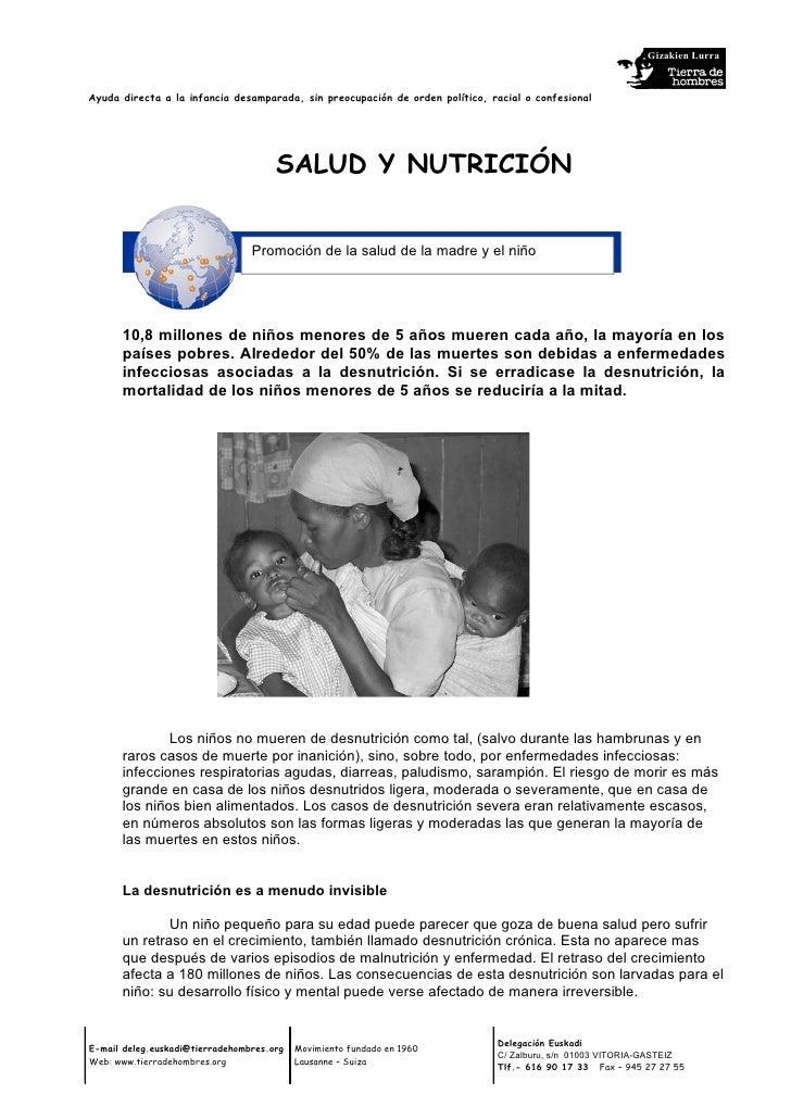 Gizakien Lurra   Ayuda directa a la infancia desamparada, sin preocupación de orden político, racial o confesional        ...