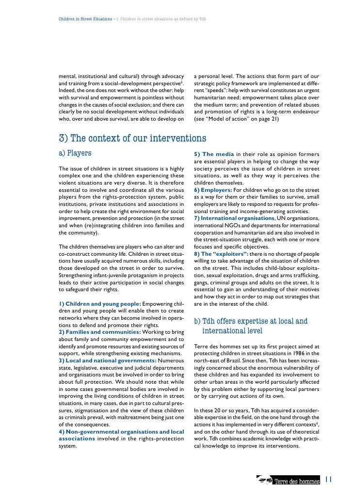 a review of the goals of conventions and principles related to the rights of children This article will not review all of the crc's requirements for juvenile justice   the crc has principles regarding the appropriate use of juvenile detention and   the un convention on the rights of the child, the committee, and ojjdp   acknowledge that the goals of the juvenile justice system include.