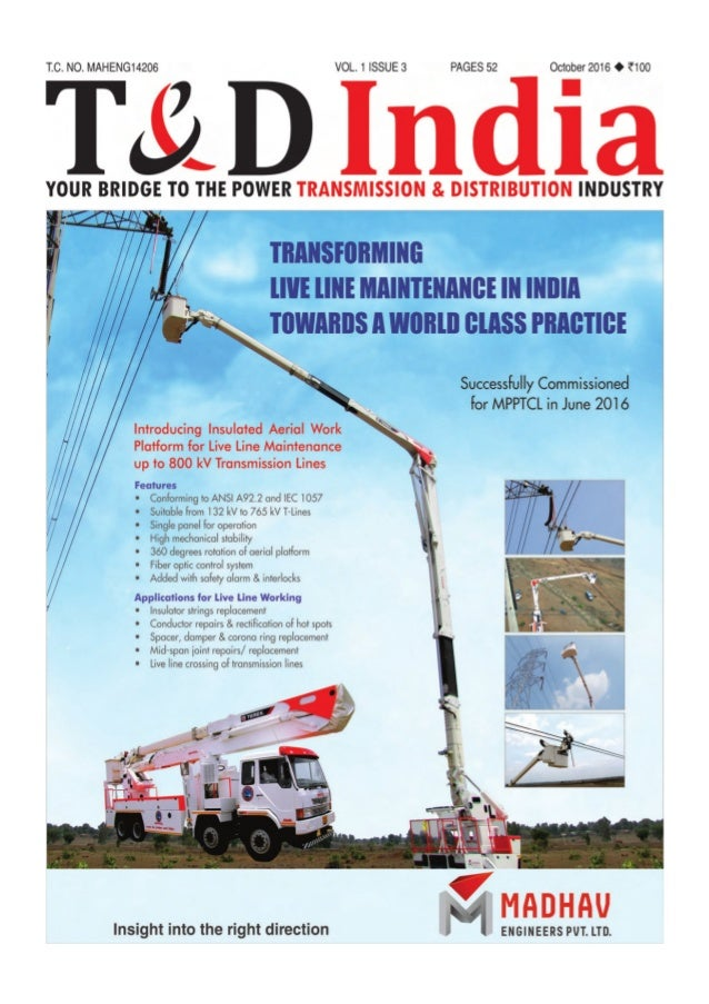 T&D India (October 2016): Making India Technology-Ready