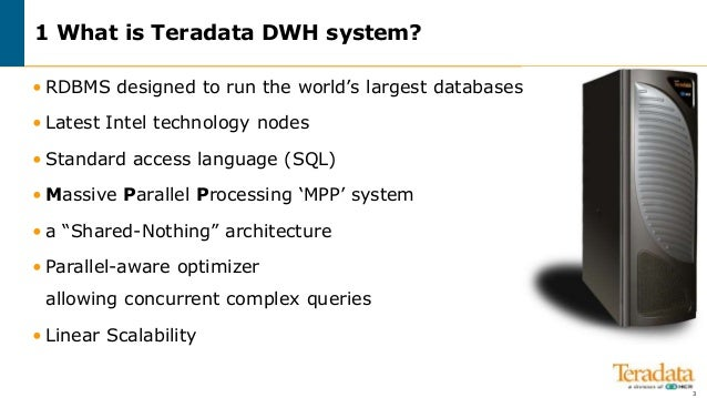 Teradata introduction - A basic introduction for Taradate ...
