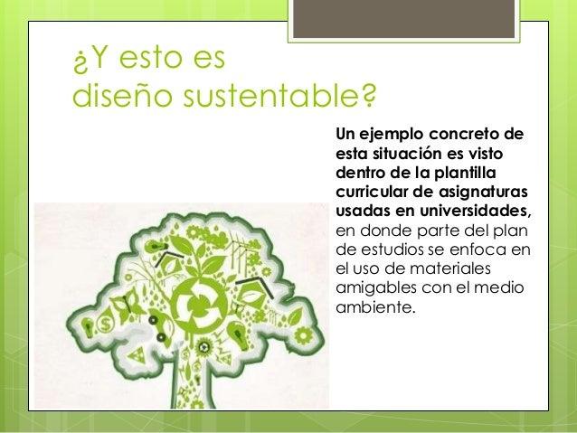 Teor a del dise o sustentable for Diseno sustentable
