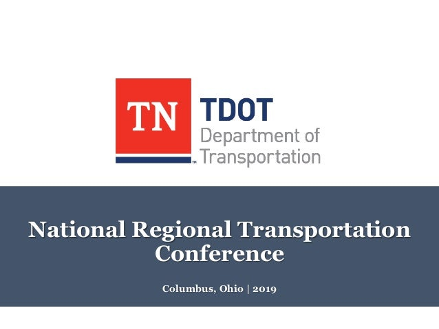 Columbus, Ohio | 2019 National Regional Transportation Conference