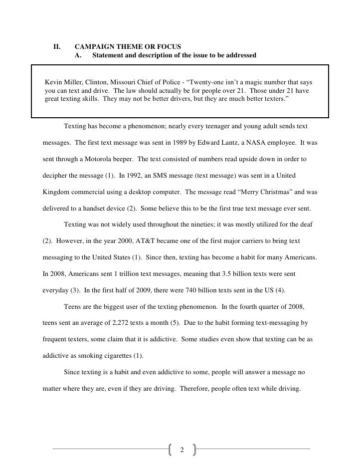 Sample Public Relations Project PRP – Sample Police Statement