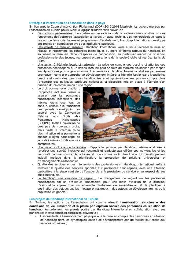 Stratégie d'intervention de l'association dans le pays En lien avec le Cadre d'Intervention Pluriannuel (COP) 2012-2016 Ma...