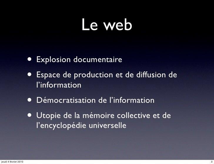 Outils de recherche et de veille sur le web en SHS Slide 3