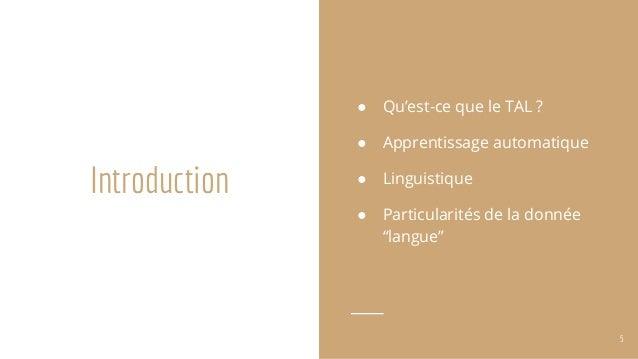 d u00e9couverte du traitement automatique des langues